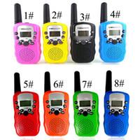 2019 Mini Walkie Talkie Çocuklar Radyo İstasyonu Retevis T388 0.5 W PMR PMR446 FRS UHF Taşınabilir radyo Iki yönlü Radyo Talkly Çocuk Telsiz C21