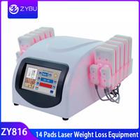 아름다움 기계를 체중을 줄이는 다이오드 Lipo 레이저 뚱뚱한 불타는 체중 감소 14 개의 패드 Lipolaser 체중을 줄이는 체중을 줄이는 다이오드 레이저 Lipolysis 몸