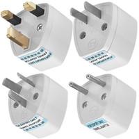 Universal Travel Adapter Stecker Outlet Worldwide 250V AC Adapter Buchse in US-EU-AU UK-Adapter-Konverter