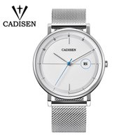 CADISEN stylish men' s watch luxury casual quartz date a...