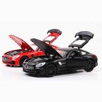 جيان يوان سيارة نموذج مرسيدس بنز GTR AMG سبائك الرياضة سيارة نموذج سيارة الصوت البصري المركبة سيارة العطور مقعد الديكور