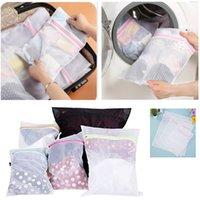 شبكة حقائب الغسيل على بلوزة جوارب الجورب الملابس الداخلية البرازيلي والسفر الغسيل حقيبة الغسل آلة تنظيف الملابس حقائب S / M / L XD22005