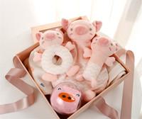 Новорожденные Детская одежда Set Great Baby Shower Реестр Подарочные наборы приданое 5 пьес для мальчиков девочек 0-1 лет Подарочная коробка Добро пожаловать Новое прибытие