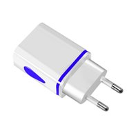 미니 삼성 Xiaom 전화 충전기 벽 충전기 어댑터 EU / US 플러그 휴대 전화를 충전 5V 2.4 빠른 충전 증권 DHL DuaFast