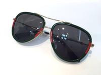 Kadınlar için Lüks Tasarımcı Güneş Gözlüğü 0062 Klasik Yaz Moda Stil Metal Çerçeve Gözlük En Kaliteli Gözlük UV Koruma Lens