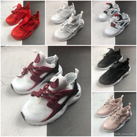 2020 Huarache infant Running Shoes Kids Sports White Childre...