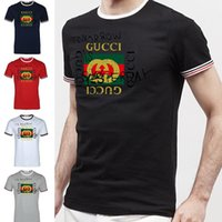 The New Men T- Shirts Male Plus Size T shirt Homme Summer Sho...