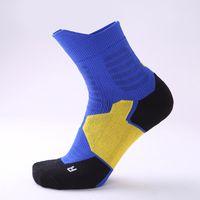 calzini di basket d'elite maschili e femminili antiscivolo traspirante calzini di sport assorbimento del sudore asciugamano fondo calzini del tubo centrale ispessite