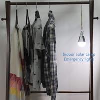 태양 전원 LED 전구 조명 태양 LED 랜턴 텐트 전구 태양 충전식 램프 야외 비상 휴대용 캠핑 라이트
