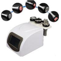 5 en 1 Equipement de beauté RF Aspirateur 40k Cavitation à ultrasons Lipolyse de la graisse Réduction Minceur Machine Corps Perte de poids Perte de poids