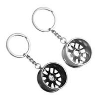 Обод колеса ключевой цепи Hot SALE металла высокого качества брелок автомобиля Key Chain Key Ring ступицей оптовой