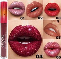 Glitter Flip Lip Gloss Velvet Matte Lip Tint Waterproof Long Diamond Flash Shimmer Liquid Lipstick 15 colori RRA922