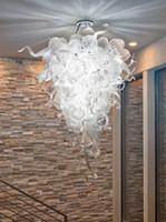 Casa Decoração Bolha Lâmpadas Pingente LED Lâmpadas Modern Crystal Chandeliers Estilo de Luz Lustre de vidro soprado