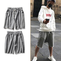 Shorts Mens estate nuovo retro solido di colore High Street Style Hip Hop Shorts Pantaloni 3 colori