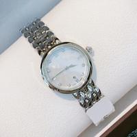 Heißer Verkauf besten Top-Business-Frauen-Uhr-Silber Deville Edelstahl-Quarz-Uhr-Art und kleine Armbanduhr Dame beiläufige Kleid-Uhren