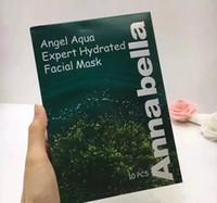 Dropshipping Tailândia Annabella Máscara Facial Anjo Aqua Expert Hidratada Máscara Facial Algas Essência 10 pçs / lote