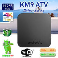 KM9 Android 9. 0 TV BOX 4GB 64GB Amlogic S905X2 2. 4G 5G Dual ...