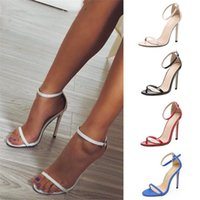 Summer High Heels New Women Pumps Comfort Women Shoes Buckle Sandals Sexy Party Shoes Heels Female Plus Size 43