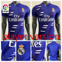 Player version 2020 real madrid Limited Edition Soccer Jerseys EA 20 21 SERGIO RAMOS soccer chemise ZIDANE uniforme des risques CITP Football