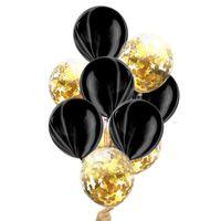 Красочные воздушный шар Агат монохромный розовое золото цветные воздушные шары обрывки бумаги Русалка блестки сочетание Airballoon горячий продавать 5 8as L1