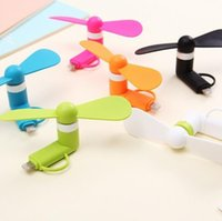 Wholesale Hot Selling Portable Mini USB Fan by Smartphone Cell Phone iPhone Android Fan Cooler Fan Novelty Games Best gifts toys