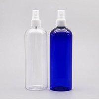 500ML Effacer Atomiseur, 16Oz Vider en plastique transparent fine brume Vaporisateurs, Contenant à remplissages pour les huiles essentielles, produits de nettoyage