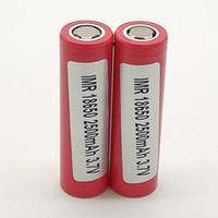 300pcs 100% Qualität für LG HE2 18650 2500mAh IMR 3.7V für LG SONY Samsung Wiederaufladbare Lithium-Batterien Handy