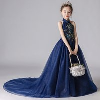 Cute Lace Flower Girl Dresses Weddings Princess Tulle Appliq...