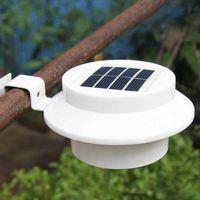 태양 램프 3LED 싱크 램프 울타리 정원 풍경 조명 방수 야외 조명 유도 벽 램프