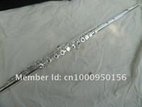 FL-271S المهنية 17 ثقوب فتحات الفلوت c لهجة e مفتاح الناي الفضة مطلي سطح cupronickel الفلوت الموسيقية مع حالة