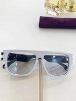 جديد مصمم أزياء النساء نظارات شمس 0664 مربع إطار الأشعة فوق البنفسجية 400 الصيف حماية الهواء الطلق النظارات النظارات الجملة شعبية بسيطة