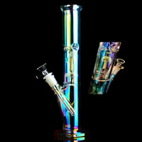 Glow In The Dark Bong Smoke Pipes Downstem Perc Bubbler Thic...