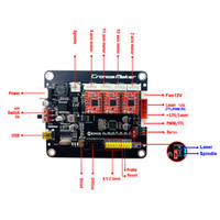 Gran 0,9 oder 1.1 Control Board 3AXIS-Schrittmotor mit offline-Doppel-Y-Achse USB-Treiberplatine für CNC-Lasergraver