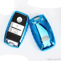 기아 리오 스포티지 2016 CEED 쏘렌토 쎄라토 피칸토 K2 K3 K5 액세서리 원래 디자인 소프트 TPU 자동차 키 커버 케이스에 맞추기