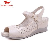 New Leisure High Heels Big Size Wedges women' s Shoes Co...