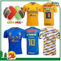 a81e4a417 2019 2020 Tigres UANL Club de Cuervos Soccer Jerseys Mexico Club Home Black  Away Gray Tigres Chivas 19 20 Football Shirts