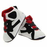 Baby Leder Sneaker Krippe Schuhe Säugling Erste Wanderer Stiefel Kinder Unisex Hausschuhe Kleinkinder Weiche Sohle Winter Bebe Warme Slip-On Turnschuhe Baumwollgewebe Drop Ship
