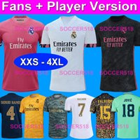 XXS - XXXXL 4XL Fans + Player version BENZEMA SERGIO RAMOS R...