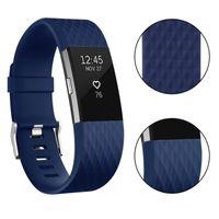 Новый дешевый smartband красочный Мягкий силиконовый ремешок для Fitbit charge2 Спортивный ремешок браслет запястье для Fitbit charge 2 TPU замена ремешка