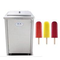 Alta calidad comercial automático de hielo palillo de crema de paleta MachineBest Venta de hielo paleta máquina para polo de hielo 1200W