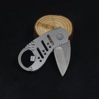 Mini Folding Taschenmesser kampierende Überleben-taktische Messer-440C Kampf im Freien Jagd Multi-Funktions-Messer EDC Flaschenöffner Multi-Tool