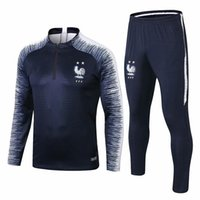 2018 french tracksuit 2 stars world cup champions survetemen...