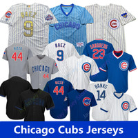 Chicago Jersey Cubs Javier Baez David Bote Kris Anthony Rizzo Nicholas Castellanos Kyle Schwarber Jonathan Lucroy
