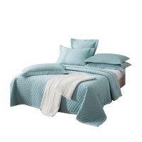 Grau Burgunder Blau Grün Kamel-Rosa-Farbe bedcover Bettdecken Bettwäsche 3pcs Sets King Size Quilting Quilts Bedspread gesteppte Bettlaken Bettwäsche