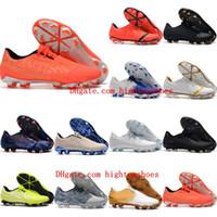 2021 Erkek Futbol Ayakkabıları Phantom VNM Elite FG Cleats Venom Futbol Çizmeler Botas de Futbol