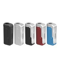 Original Yocan UNI Box Mod 650mAh Precalentamiento Voltaje variable VV Batería Para 510 Threaded Thick cartucho Vape Cartucho E Mods de cigarrillos