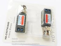 Высокое качество Coax Cat5 Camera CCTV BNC HD-CVI / TVI / AHD Passive Video Balun Connector Adapter, BNC UTP / Бесплатная доставка / 10 пар