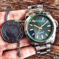 2 Colore Vendita calda Migliore Qualità AR Maker ARM 904L Acciaio CAL.3131 Movimento 40mm 116400 116400GV-72400 Swiss Automatic Mens Guarda orologi