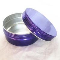 Color de caramelo 150 ml REDONDO REDONDA CREMA DE CREMA DE ALUMINIO Cera de aluminio Botella de ungüento DIY Cosmetic PackAing Supplies P055