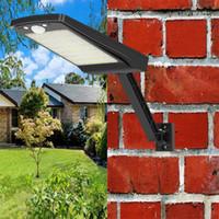 800lm 48 led Solar Lamba Işık İçin Açık Bahçe sokak Duvar Yard sel Güvenlik Aydınlatma ile kez ayarlanabilir Açısı